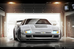 Ferrari F40 Update by AS001