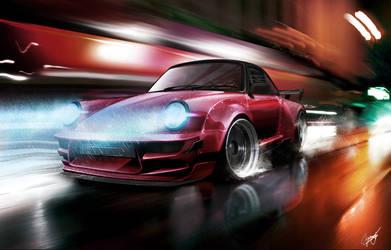 Porsche 911 updated by AS001