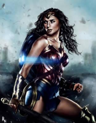 Wonder Woman by RowenHebing