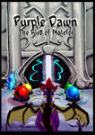 Purple Dawn: The Rise of Malefor - COVER by Blaze-TFD