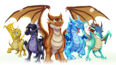 The Dragonets Of Destiny by Blaze-TFD