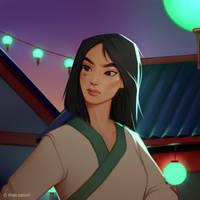 Mulan by MaxSasori