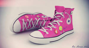 Converse Pink by erkalimero