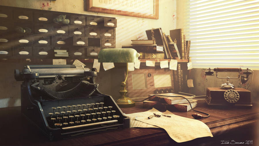 Old Office by erkalimero