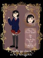 Hatori Naomi by Lilotterqueen