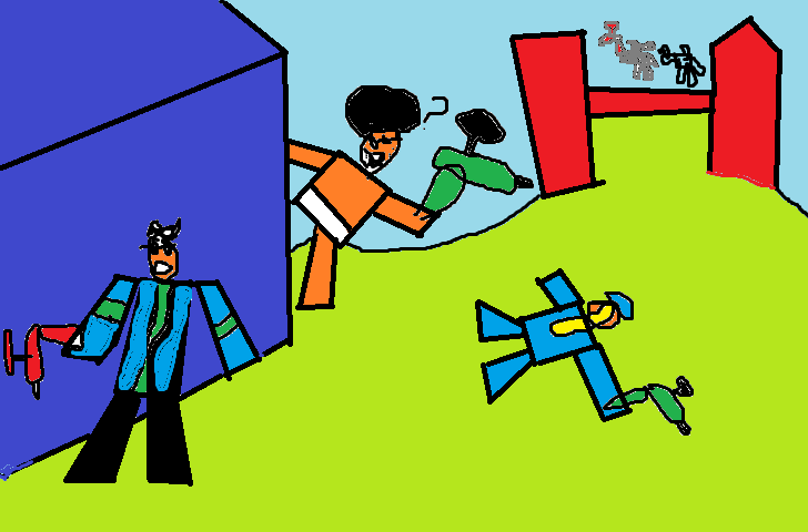 Roblox Mad Paintball Pic By Mario342132 On Deviantart