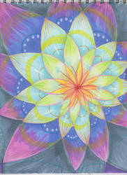 Meditation lotus by Stepzzi