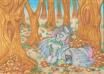 Lexia Dots with Autum hugs by Stepzzi