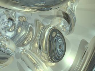 Metalic Speres 2 by Matcat