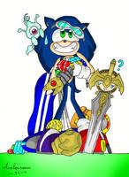 Happy 20th Anniversary Sonic by ambersonic96