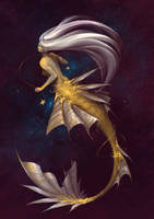 Monster 5 - Mermaid by Myrmirada