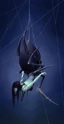 Monster 6 - Spider Girl / Arachne by Myrmirada