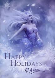 Happy Holidays by Myrmirada