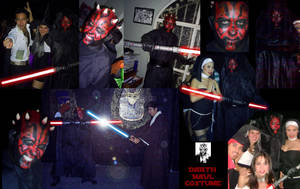 my darth maul costume by Infernauta