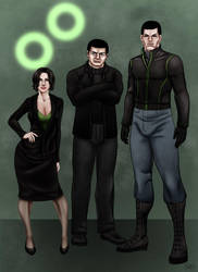 CS . The Mysterons by ZpanSven