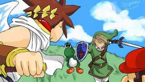 SSBB battle 1 by sho-hei