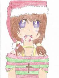 Christmas Gift to A Friend by Yumi-Nekozawa