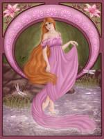 Lady Dragonfly by Ilenora