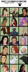 100 Characters Challenge by Ilenora