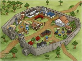 Sylestia: Esior's Haven- Commission by Ilenora