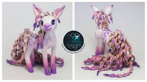 Sugar Swirl - Pony Sculpture by Ilenora