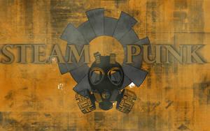 Steampunk Wallpaper by Dreamcraeft