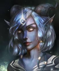 COMMISSION Draenei. World of Warcraft by Tigrsasha