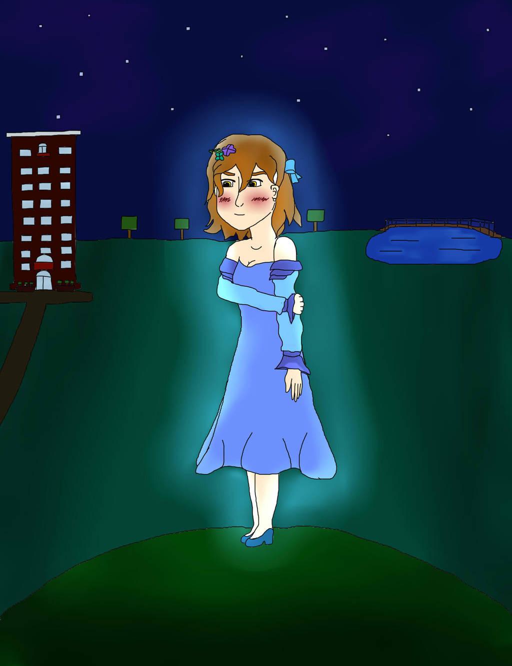 Beautiful Blue Night by PureAngelDragon713