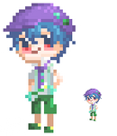Iruka pixel by yuukiartda