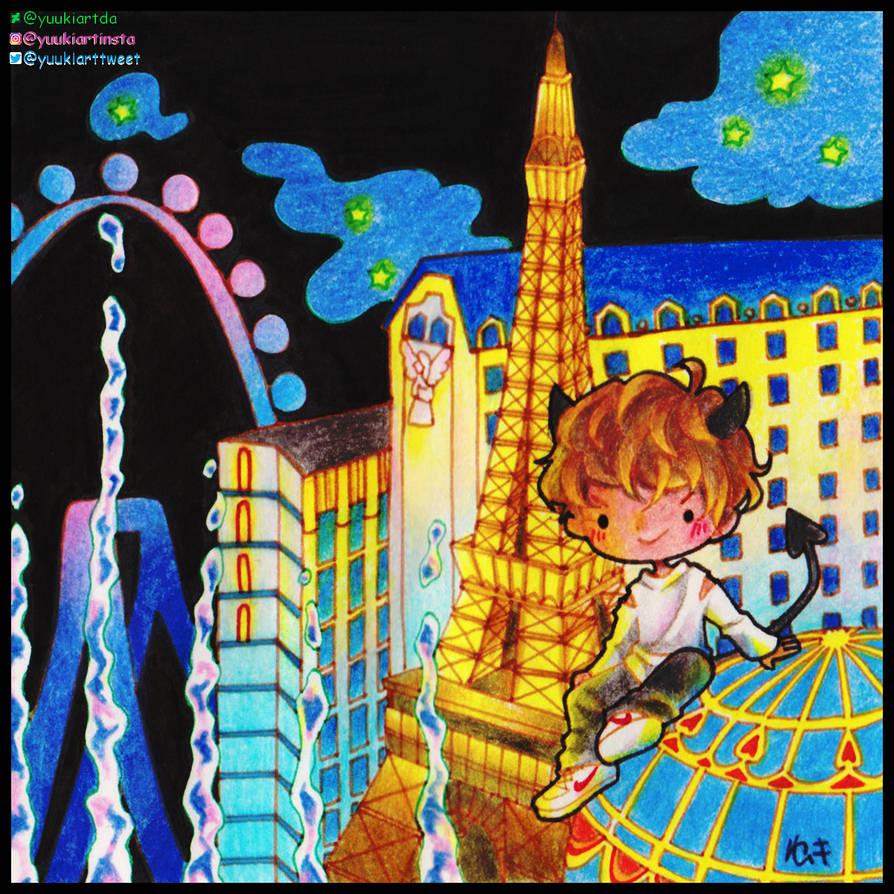 City of Light by yuukiartda