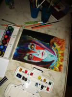 Princess Mononoke by PixieCold