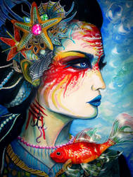 Mermaid by PixieCold