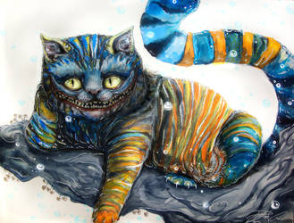 cheshire cat by PixieCold