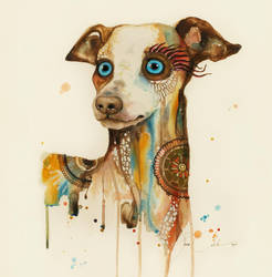 Steampunk dog by PixieCold
