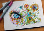 Flowers + Speedtutorial by PixieCold