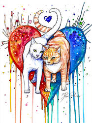 Never ending love -Tattoo designe- by PixieCold