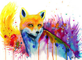 The fox -on sale- by PixieCold