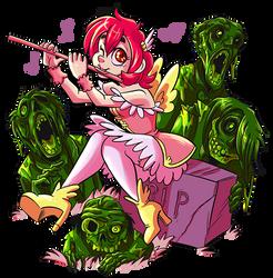 Cutest Necromancer by Animeshen