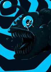 Giant Fish by Animeshen