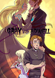 Artfight- Adwell and Gray by Animeshen