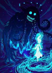 Abyssal Sea Demon by Animeshen