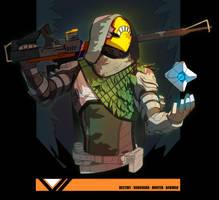 Hunter from Destiny 2 by TheBabman