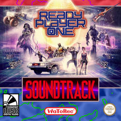 Ready Player One OST Custom Cover #15 by anakin022
