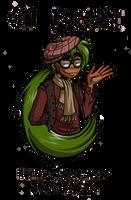 Hipster Benji by GreenLiquidBrain