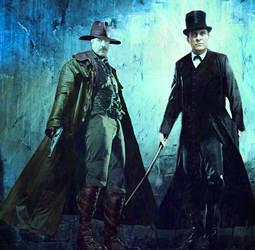 Sherlock Holmes: Vampire Hunter by esuniwaya