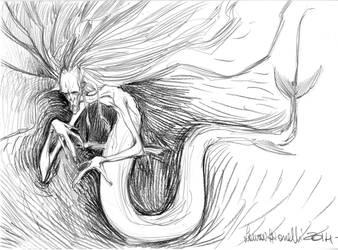 Stirpe di Pesce, Midwife by lauraspianelli