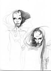 #Mermaid sketch 2 by lauraspianelli