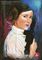 Princess Leia by artsfesouza