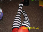 Striped Socks And Tights by businessmanrike