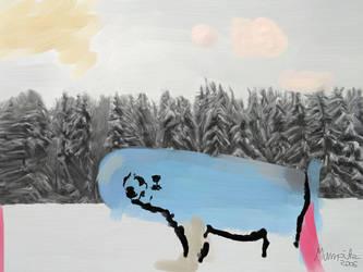 Icy Blue by Mumpitz